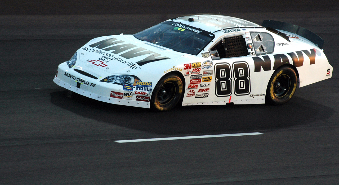 JOINING JR. MOTORSPORTS AND GETTING TO RUN THE 88 CHANGED EVERYTHING FOR ME.